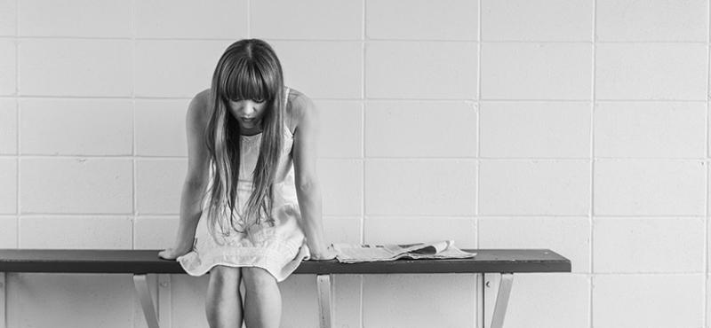 Bulimi - Trist ung kvinde